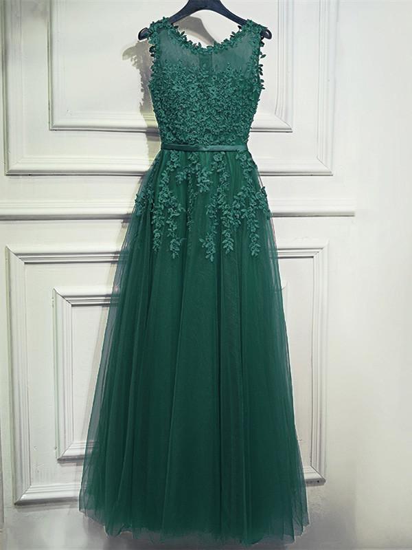 a41ef3999383 Abendkleid Abiballkleider Lang Rosa Tüll Spitze Perlen Rücken Transparent