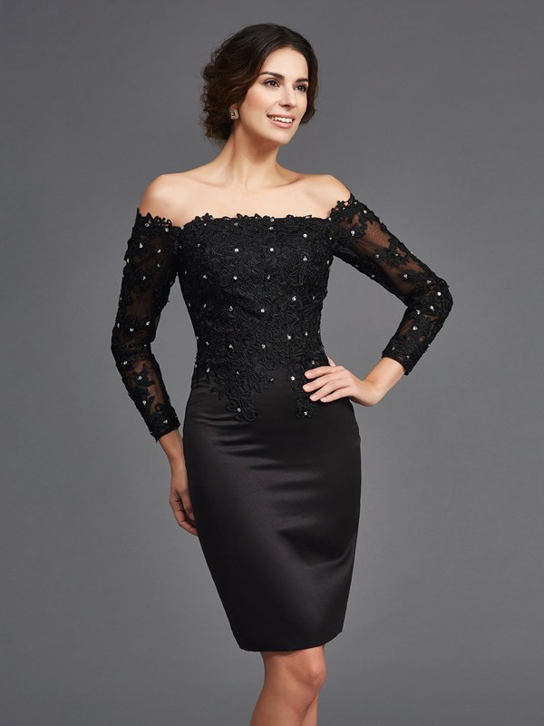 Abendkleid kurz spitze schwarz