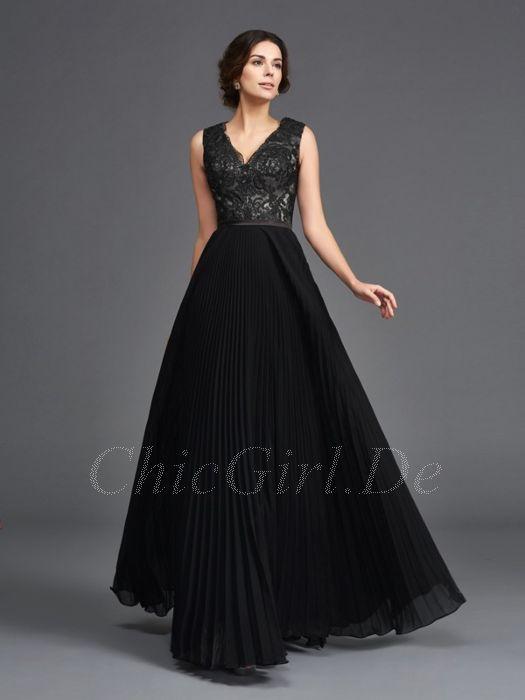 Lima haljina visok abendkleid schwarz silber lang