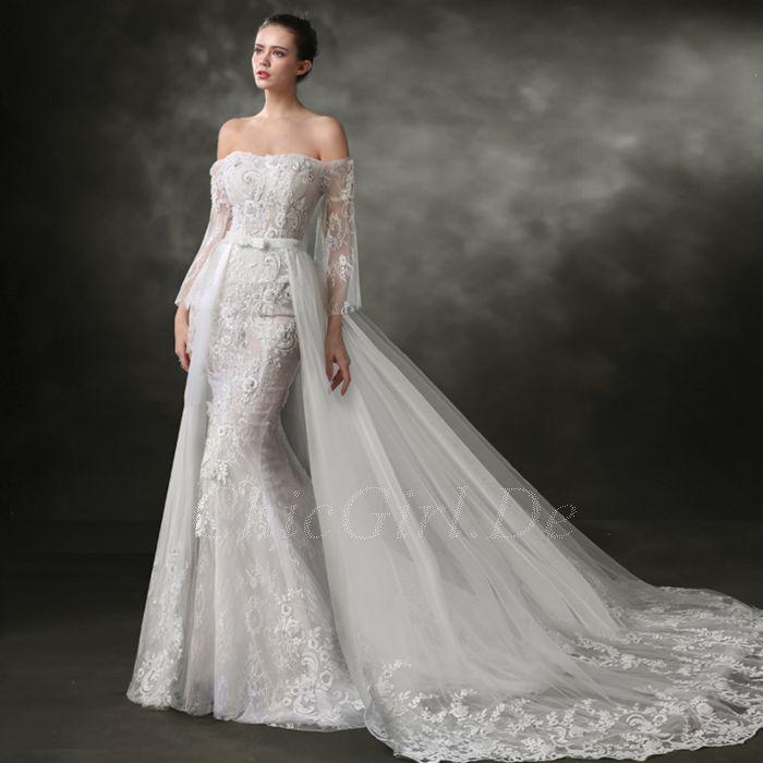 Hochzeitskleider spitze meerjungfrau