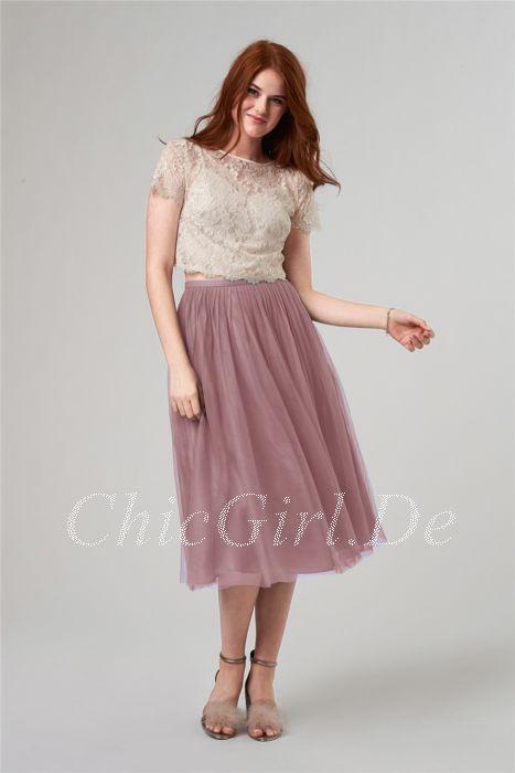 Kleid lang zweiteilig