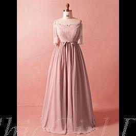 Abendkleid Abiballkleider Große Größen Carmen Ausschnitt ...