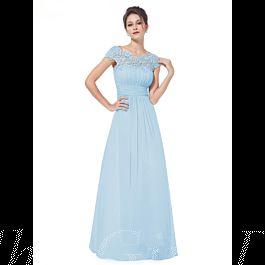 Elegante Brautjungfernkleider Abendkleid Rückenausschnitt ...