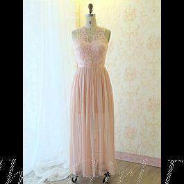 kleider für hochzeit brautjungfernkleider lang rosa spitze chiffon fließend