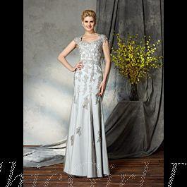 Meerjungfrau Abendkleid Brautmutterkleider Queen Anne ...