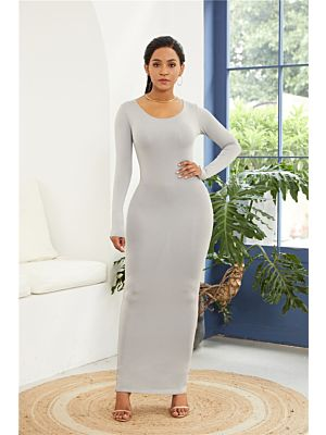 11c5c41574ab6b Kleid Lang 2019 Günstig Online Kaufen | Farbe: Silber; Jahreszeit: Sommer